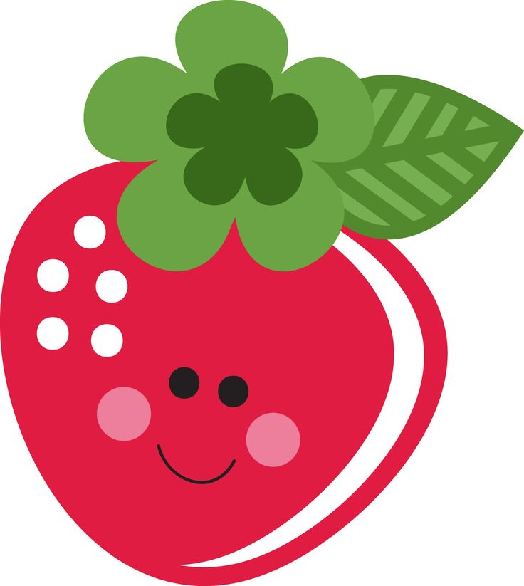 Cute strawberry clipart » Clipart Station.