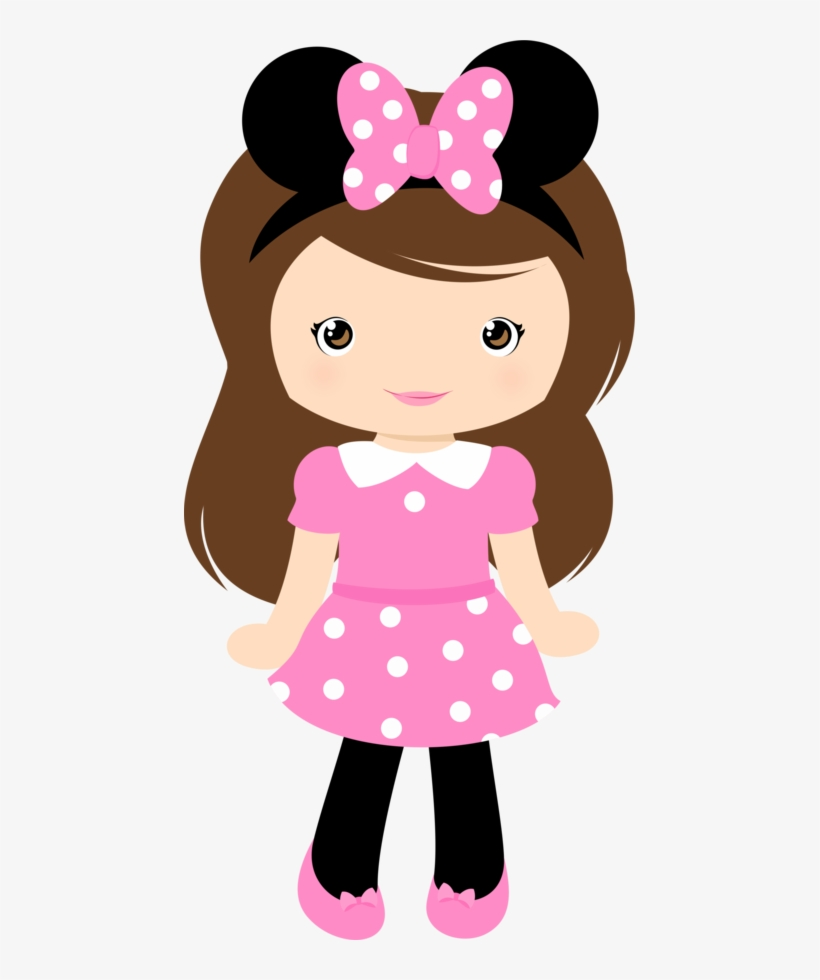 Cartoon Girl Cute Clipart Grafos Club House Minus Mu.