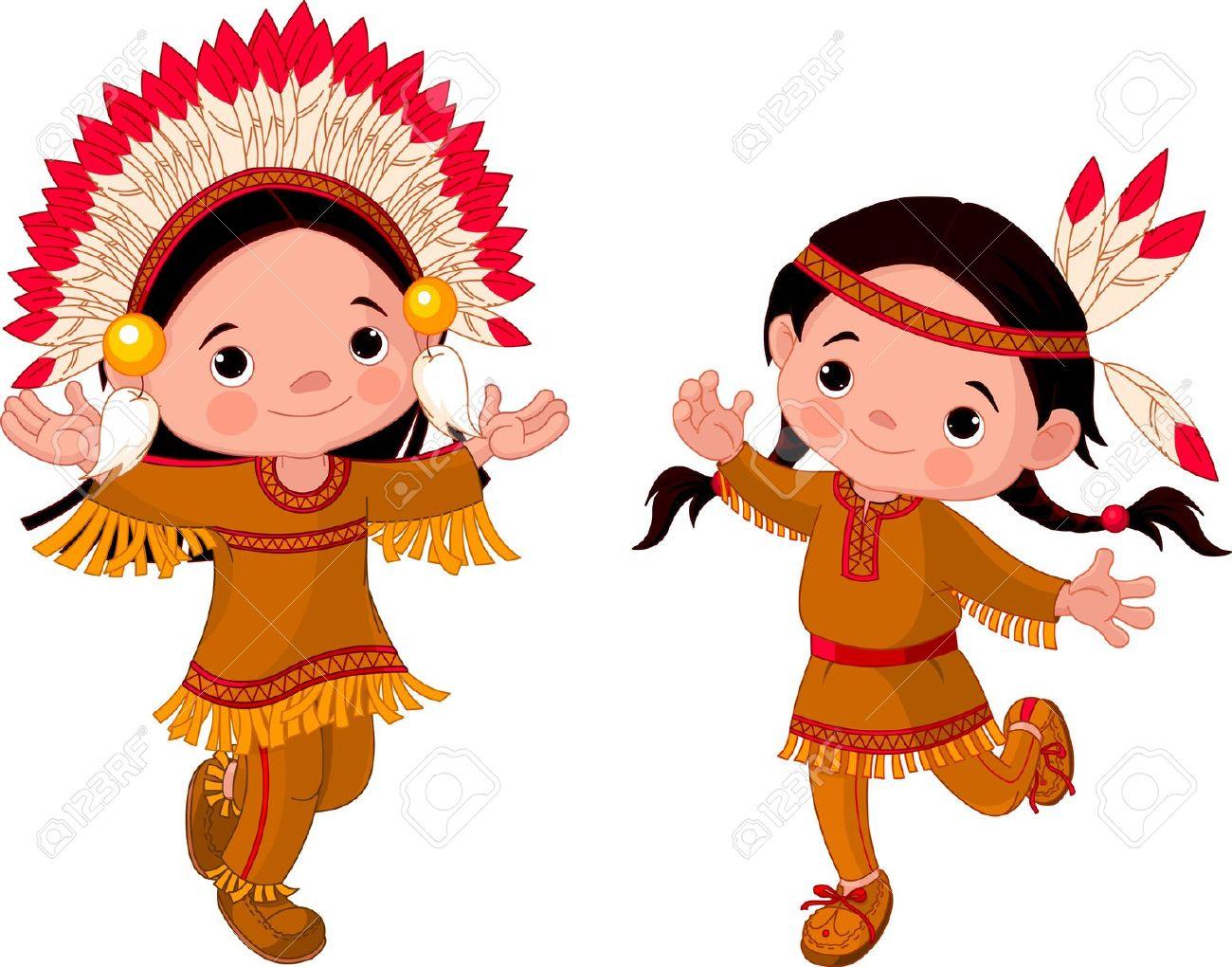 Cute Indian Clipart.
