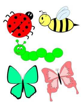 Cute Insect Clipart.