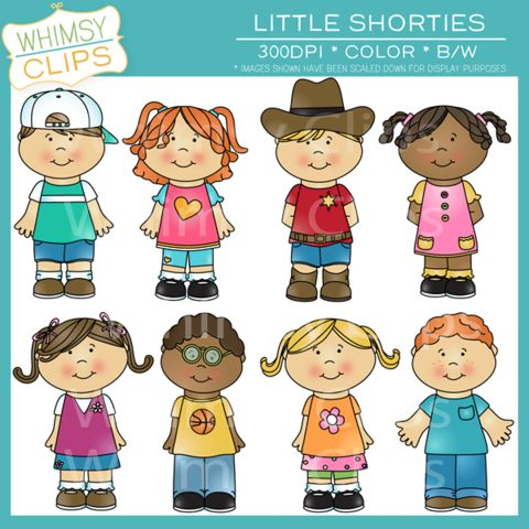 Cute kids clip art pack. Premium high resolution clip art from.