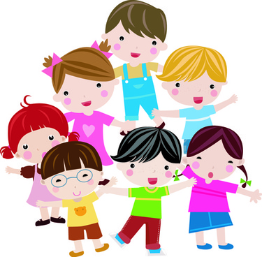 796 Cute Kids free clipart.