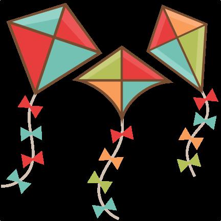 Cute kite clipart.