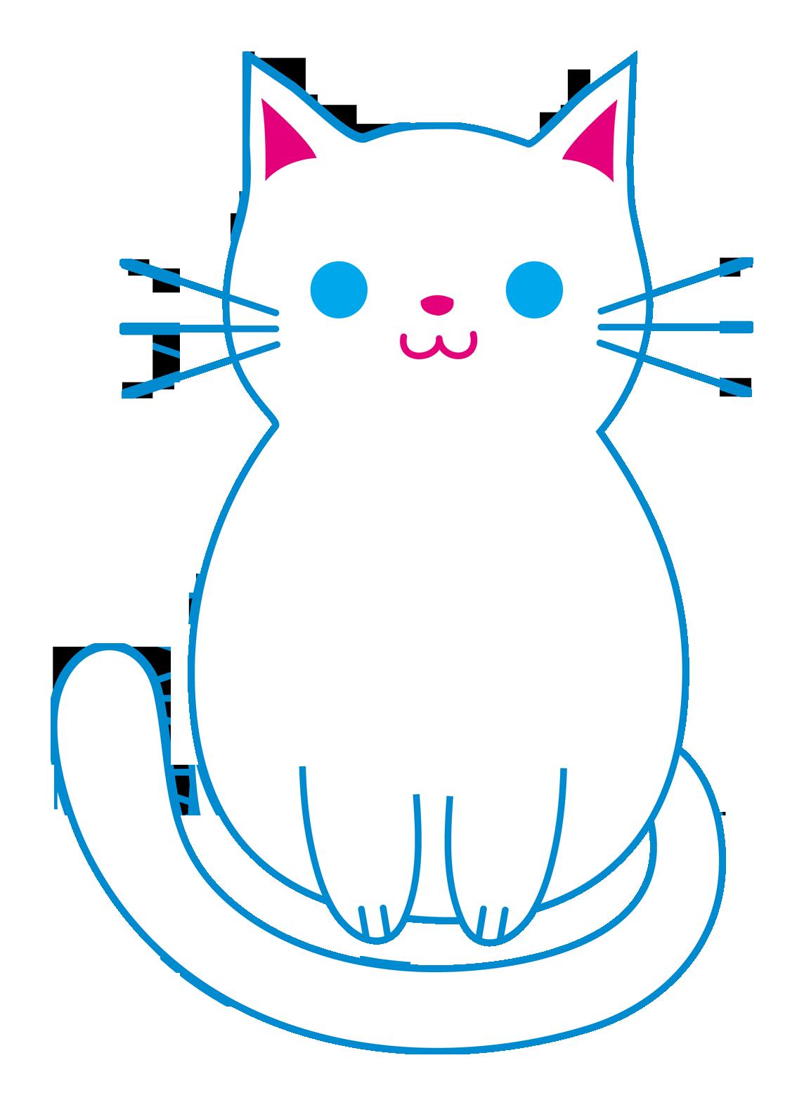 Cute Kitten Clipart Transparent.
