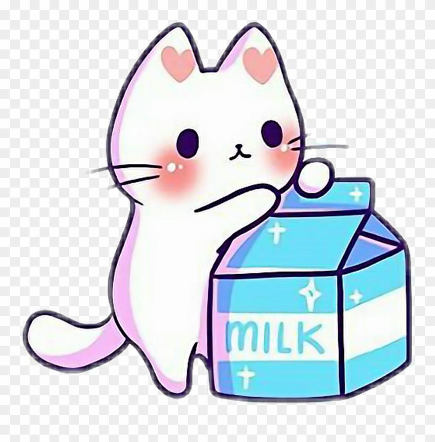 Kawaii Cute Cat Kitten Kitten Kittens Cats Catlove Clipart.