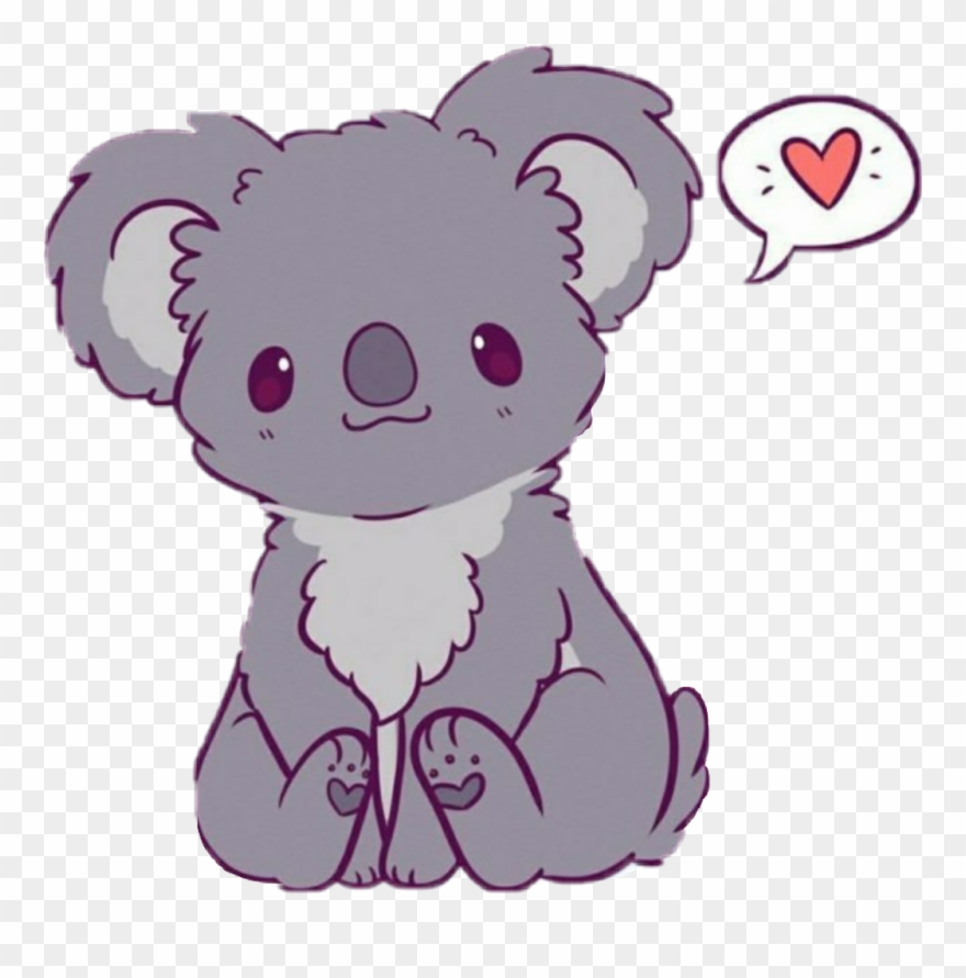 Kawaii Cute Easy Drawings Of Koalas Clipart (#3215548).