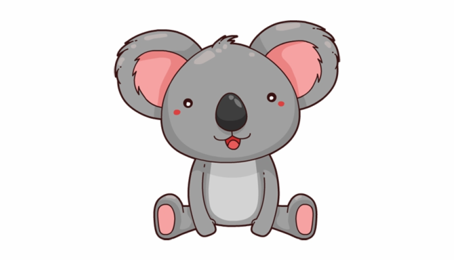 Cute Koala Cartoon Png Free PNG Images & Clipart Download #3383066.