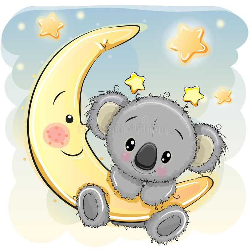Cute Koala Stock Illustrations.