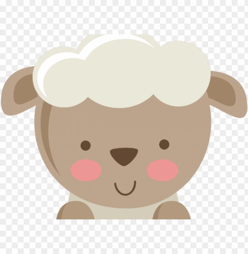 lamb clipart cute.