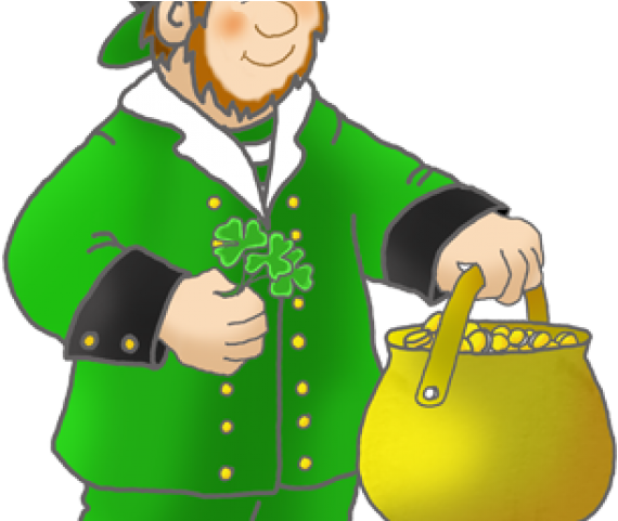 Cute Leprechaun Clipart.