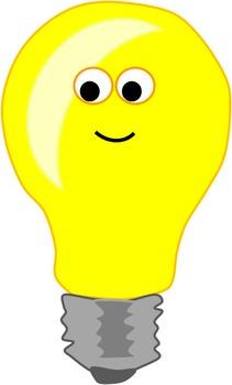 Lightbulbs (Cute Clipart).