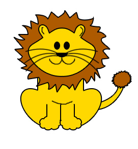 Baby Lion Clipart.