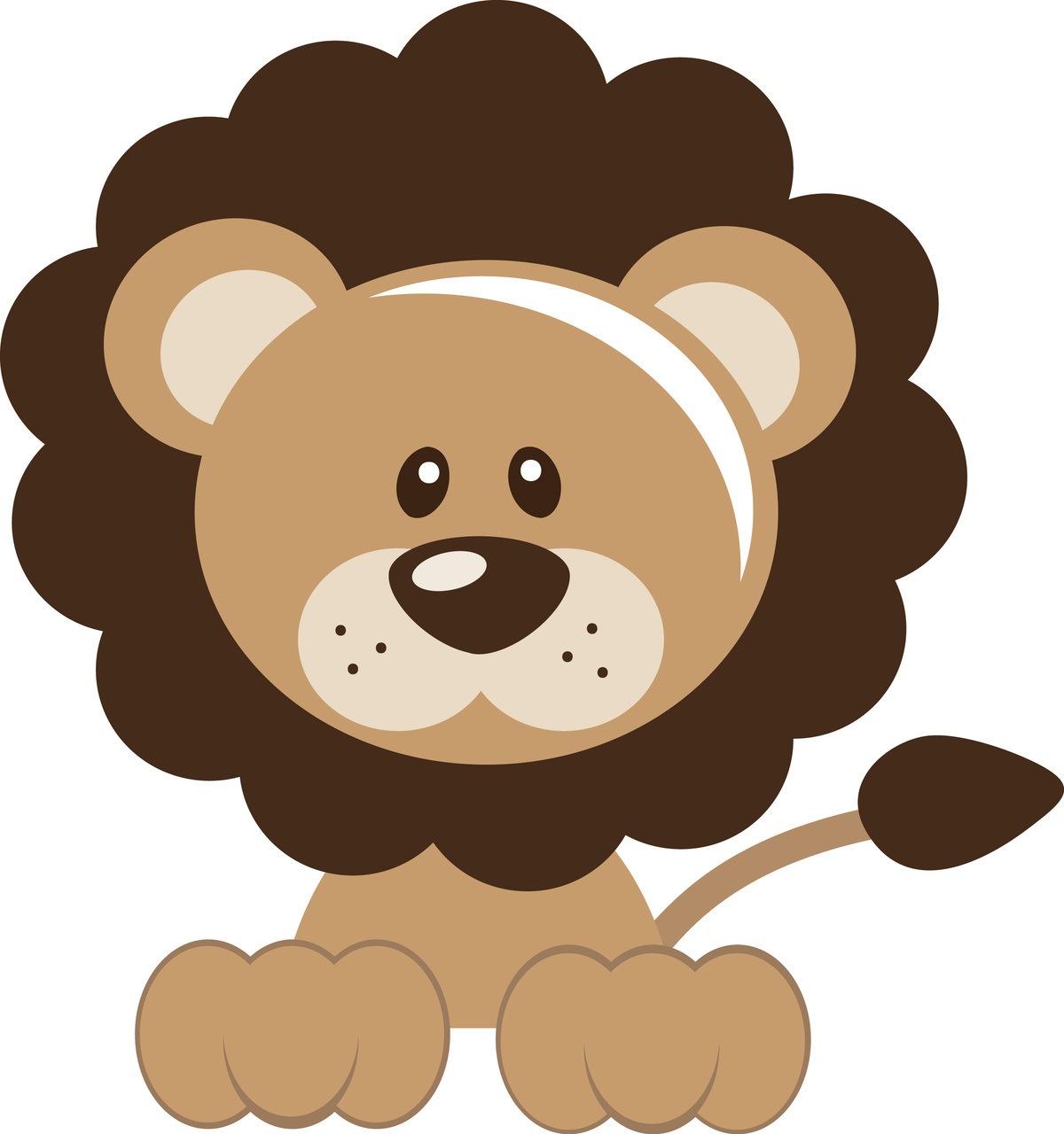 cute lion clipart - Clipground