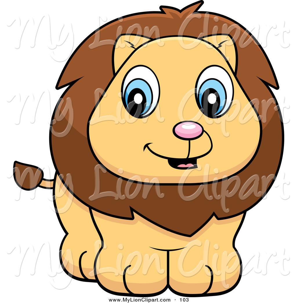 Lion Cub Clipart.