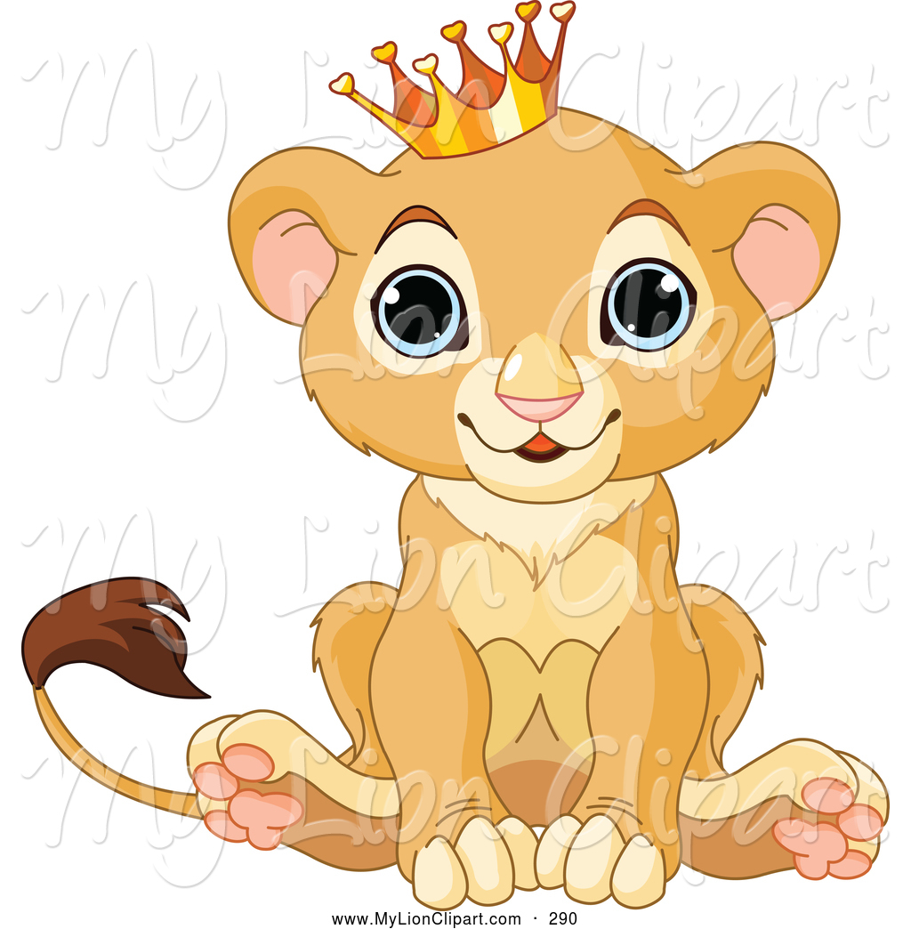 Royalty Free Cute Animal Stock Lion Designs.
