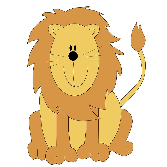 Showing post & media for Cartoon lion clip art family.