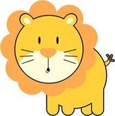 Cute Lion Head Clipart.