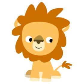 Cute Lions Clipart.