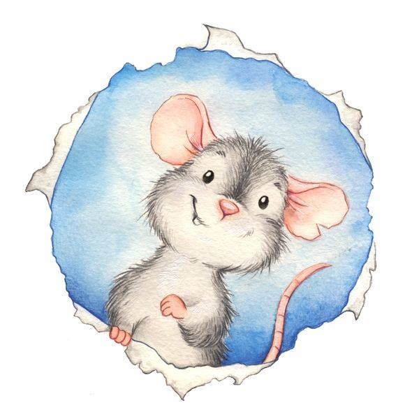 Cute little mouse expressions.