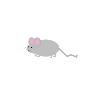 Cute Little Mouse 2 clipart, cliparts of Cute Little Mouse 2 free.