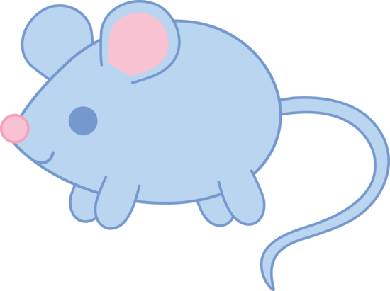 Baby Blue Mouse.