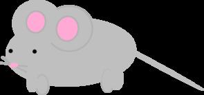 Cute Little Mouse Clip Art at Clker.com.