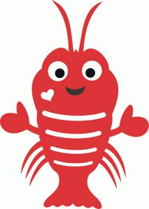 Lobster clipart cute, Lobster cute Transparent FREE for.