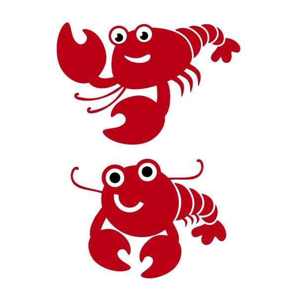 Cute Lobster Clipart.
