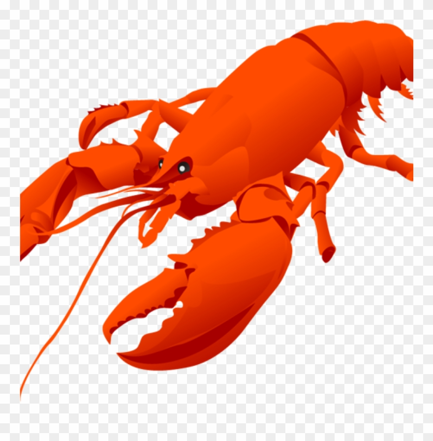 Image Transparent Cute Lobster Clipart.