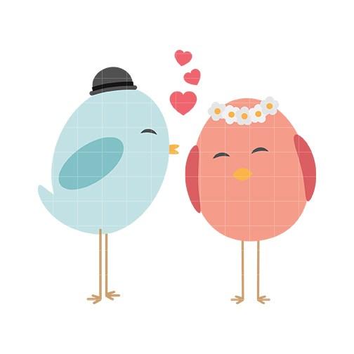 Cute love birds clipart 4 » Clipart Portal.