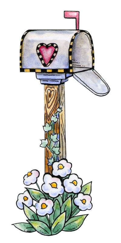 Cute Mailbox Clipart.