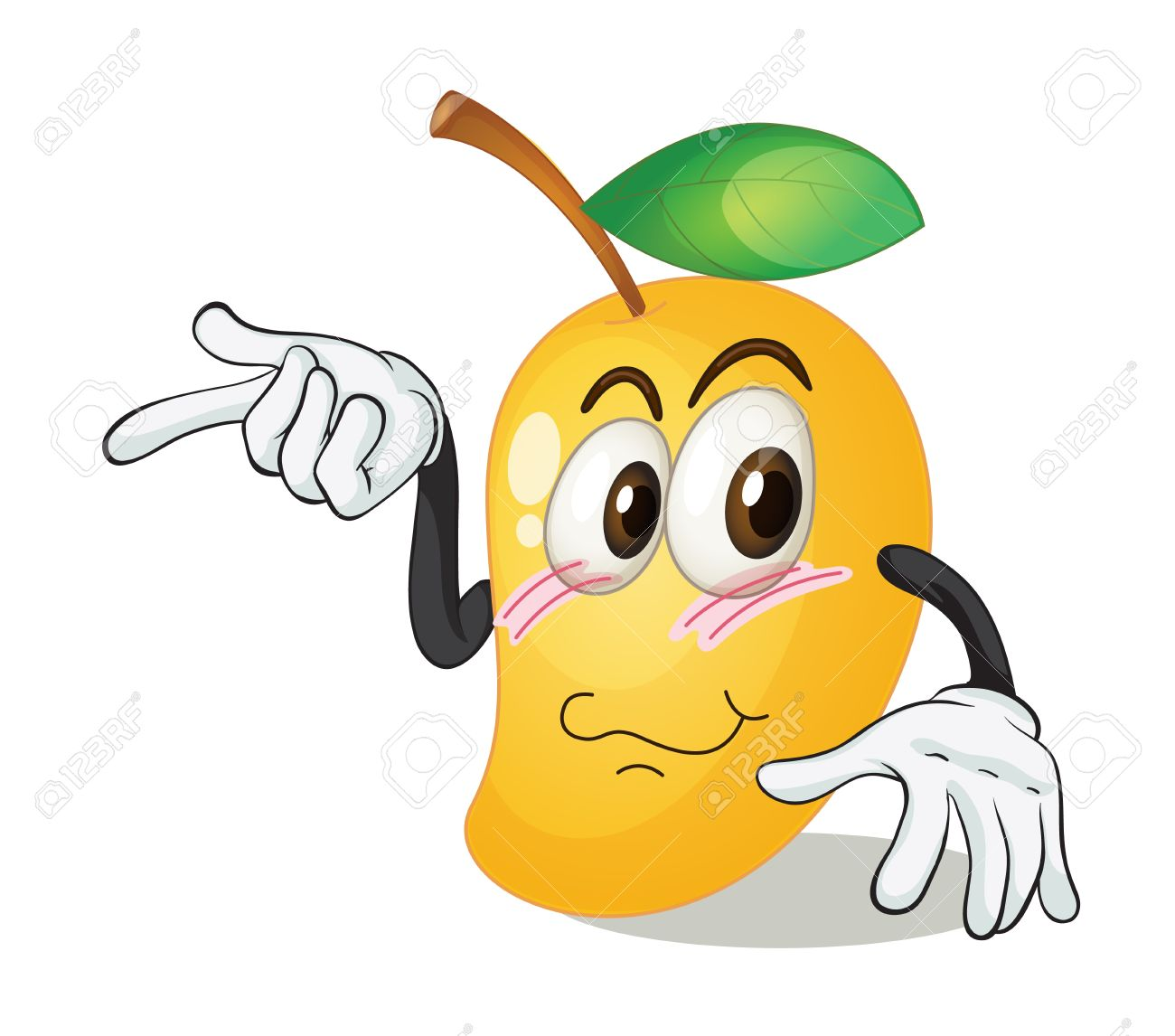 cute mango clipart #10