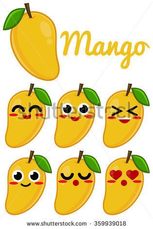 Cute Mango Clipart Clipground