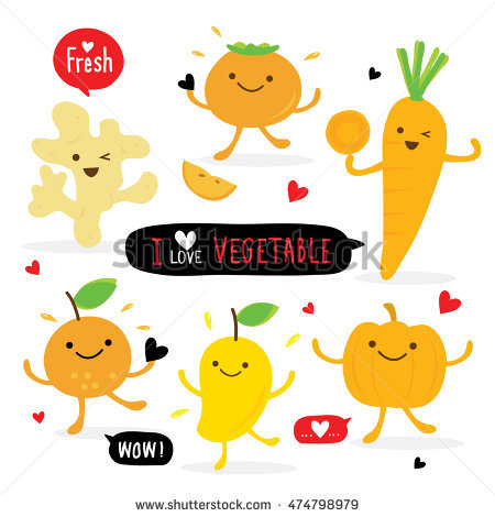 Cute Mango Stock Images, Royalty.