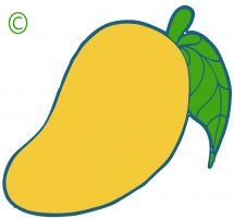 Cute Fruit Clipart.