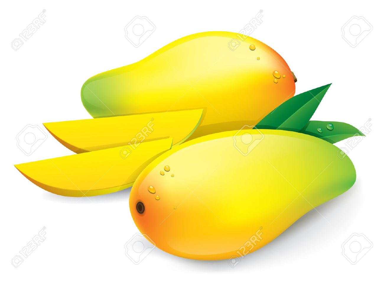4,632 Mango Cliparts, Stock Vector And Royalty Free Mango.