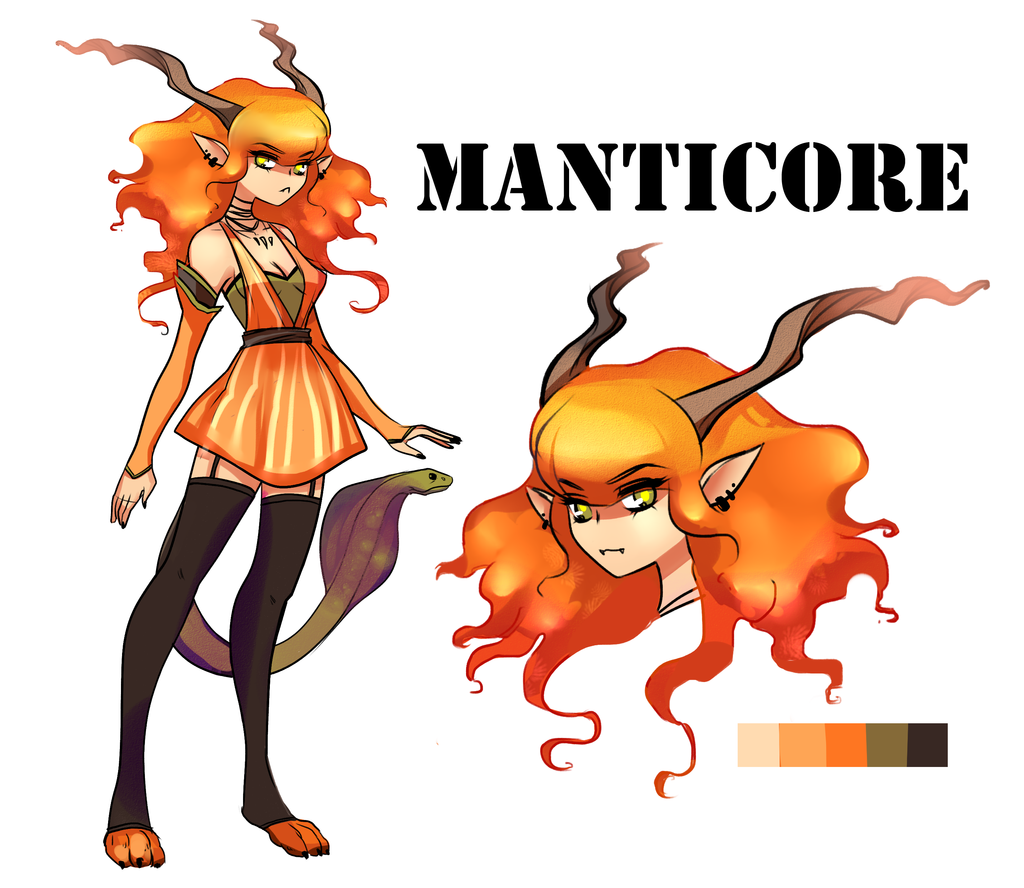 MANTICORE GIRL AUCTION CLOSED (MIO) by miotess.