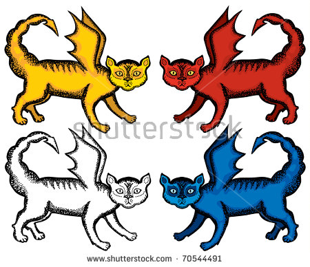 Manticore Stock Images, Royalty.