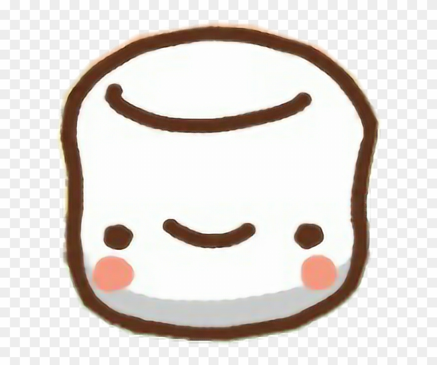 Clawbert Cute Kawaii Sweet Cartoon Adorable Marshmallow.