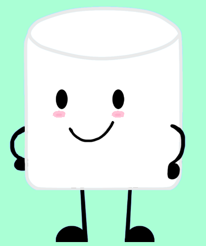 Cartoon Marshmallow.