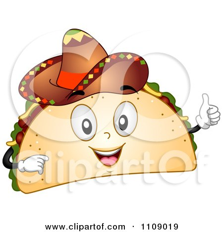 Clipart of a Cute Hispanic Boy in a Traditional Mexican Costume.