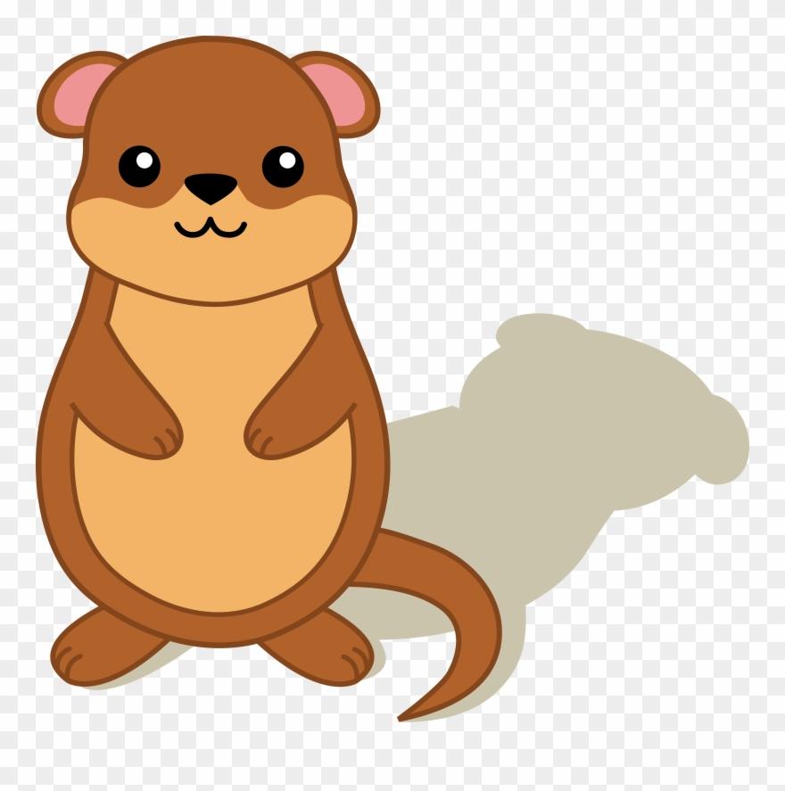 Mole Clipart Cartoon Baby.