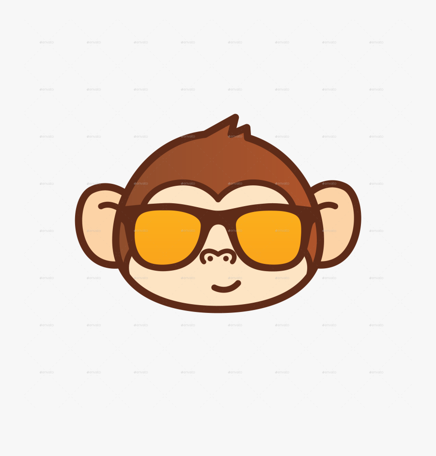 Transparent Cartoon Monkey Png.