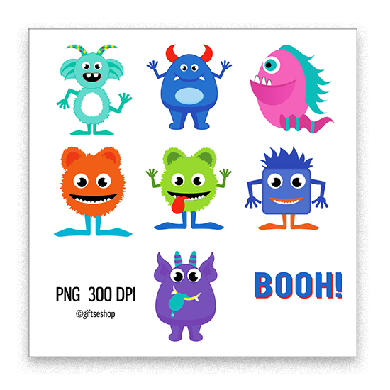 Cute Monsters Clip Art Images Monster Clipart.