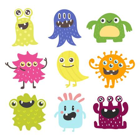 80,726 Cute Monster Stock Illustrations, Cliparts And Royalty Free.