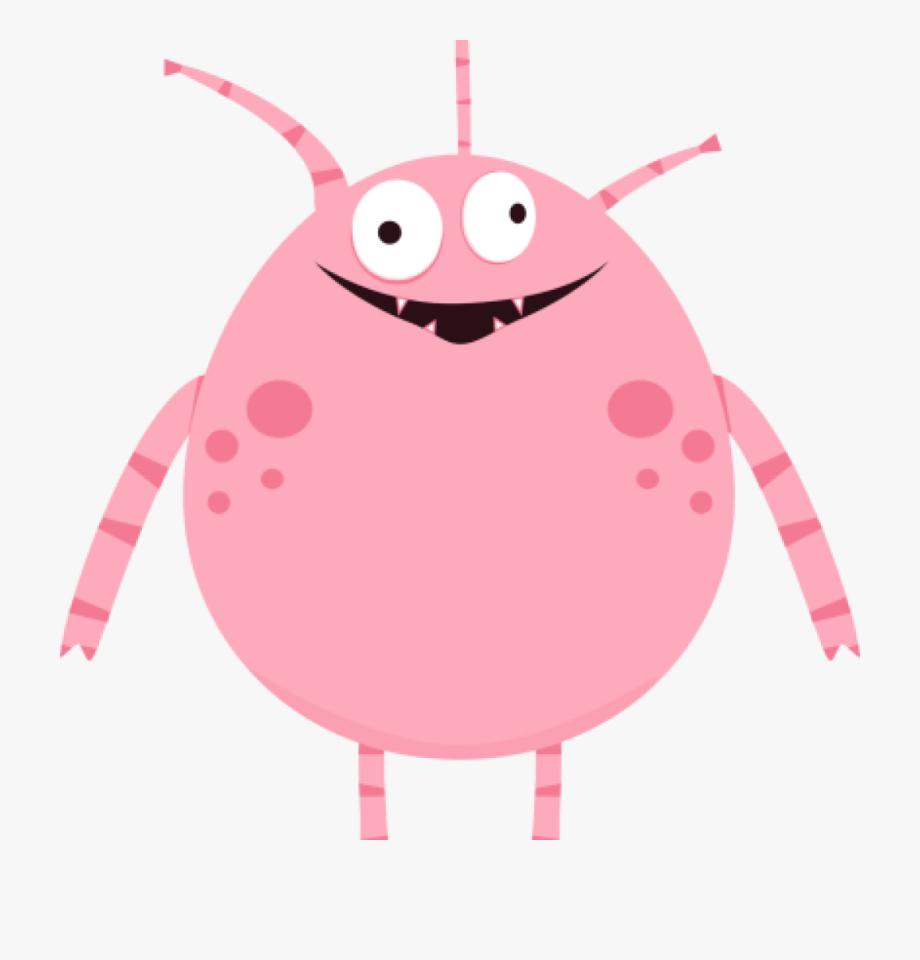 Cute Monster Clipart Monster Clipart For Kids Pink.