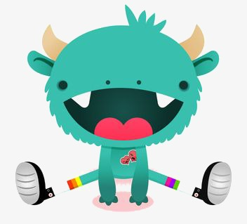 Cute Monster Clipart Png.
