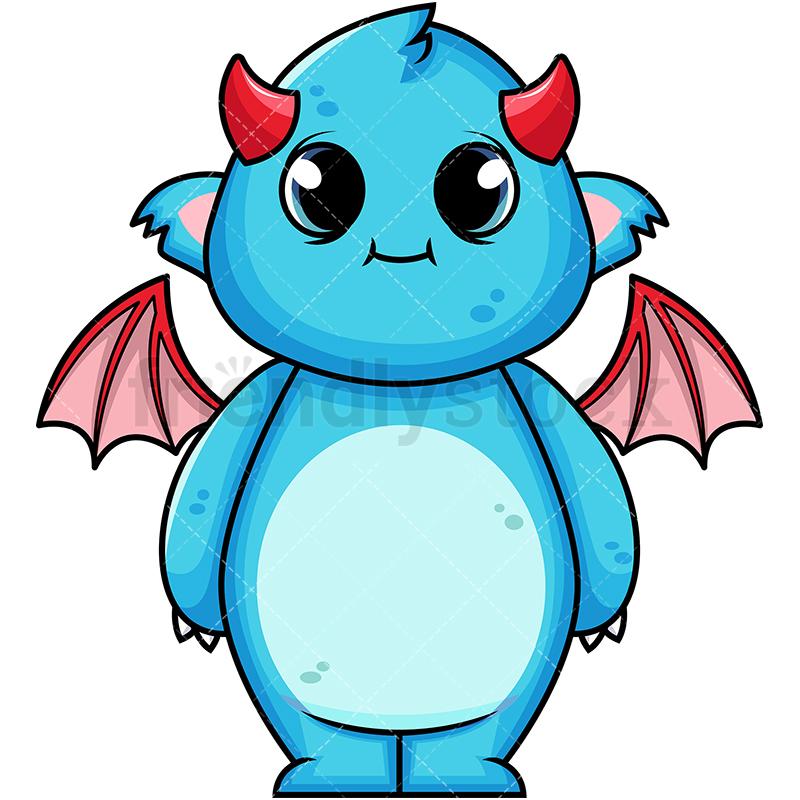 Cute Winged Monster.