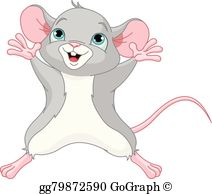 Cute Mouse Clip Art.
