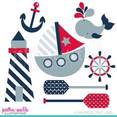 Sailor Baby Boy Cute Digital Clipart, Sailor Clip art, Nautical.